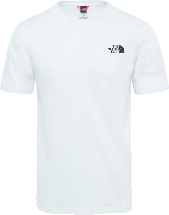 Tee The Face Box White Red North Tnf qw4wI17