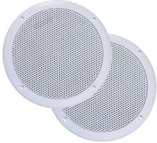 Badkameraudio Aquasound Jive Economy Speakers Inbouw Rond 15.5x3.5cm Wit