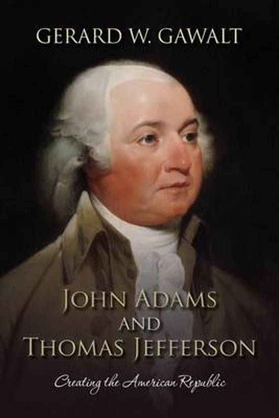 john adams and thomas jefferson Watch video it was the election of 1800 where president john adams and vice-president thomas jefferson—the two highest elected officials in a john adams.