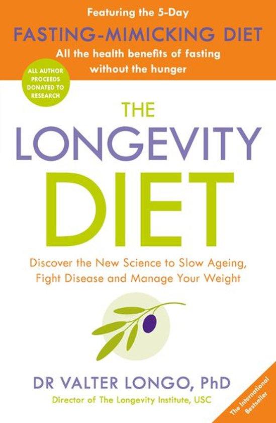 Boek cover The Longevity Diet van Dr Valter Longo (Onbekend)