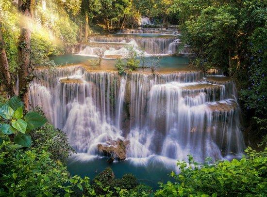 Papermoon Huay Mae Khamin Waterfall Vlies Fotobehang 500x280cm 10-Banen