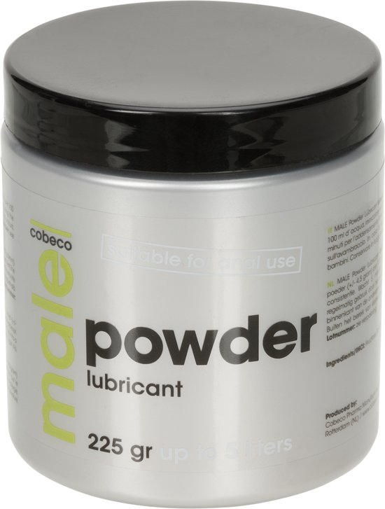MALE - Powder Lubricant 225gr