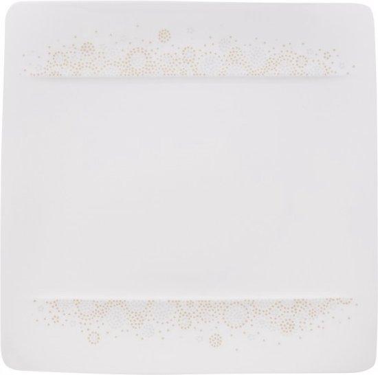 Villeroy en Boch Modern Grace Grey Ontbijtbord - 23 cm x 23 cm