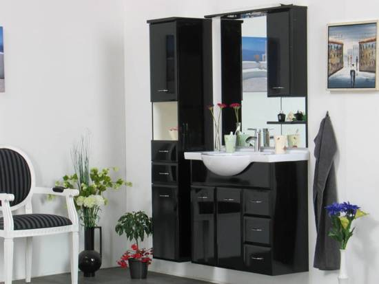Bol.com alsace badkamermeubel zwart