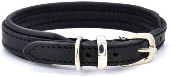 Dogs & Horses Lederen Halsband zwart