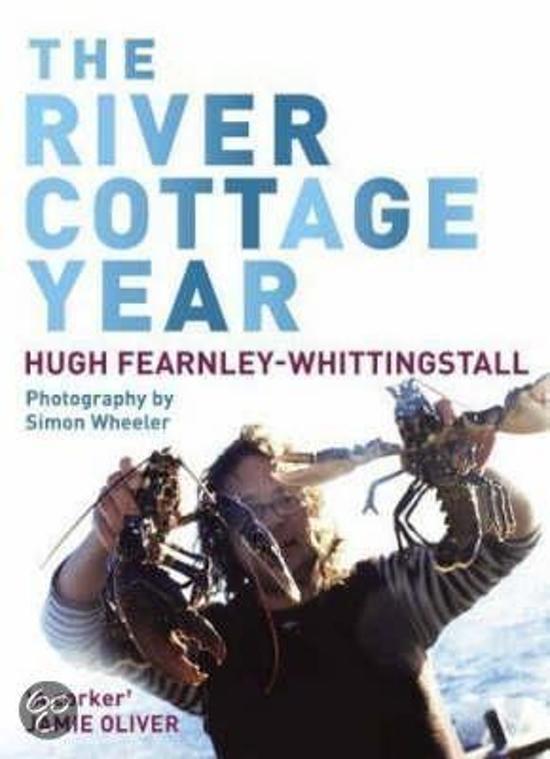 Boek cover The River Cottage Year van Hugh Fearnley-Whittingstall (Paperback)