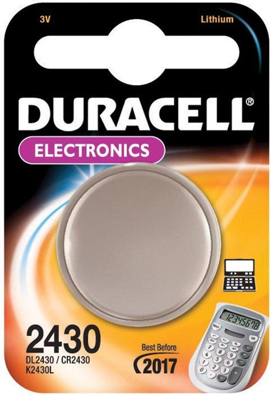 Duracell Lithium CR2430 3V - blister 1