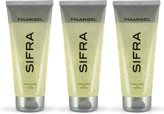 SIFRA Haargel parfumvrij -3 stuks
