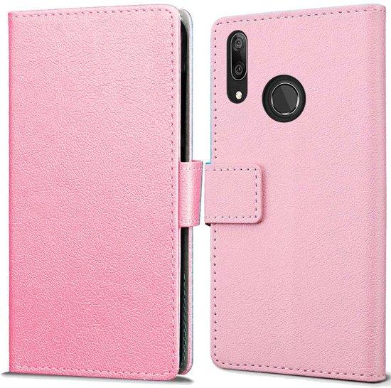 Huawei Y7 2019 Wallet Hoesje - Roze