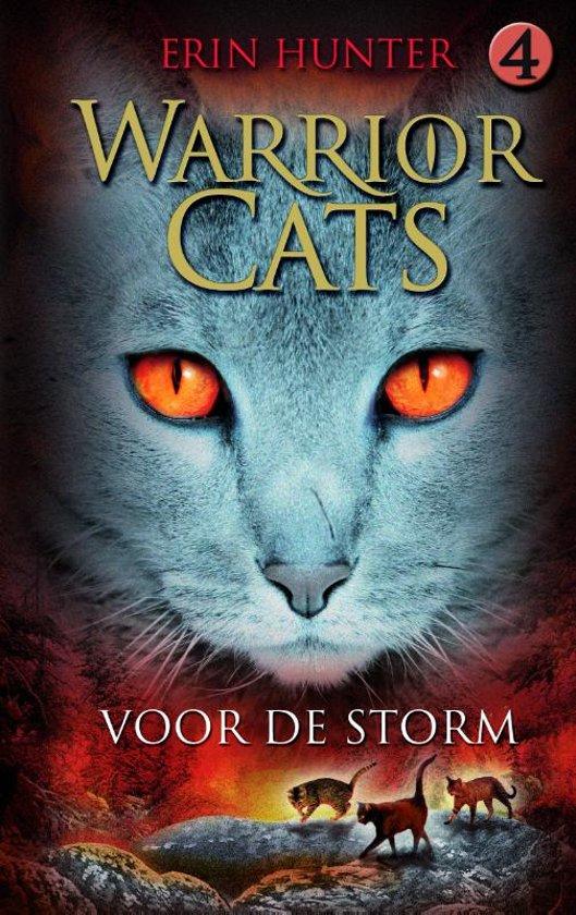 Cover van het boek 'Warrior Cats / 4 Voor de storm'