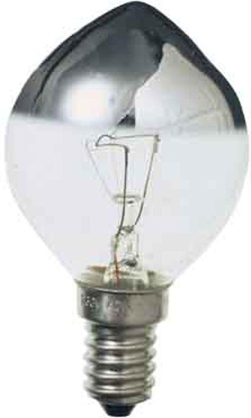 Osram Kopspiegellamp E14 45x75mm 230V 40W Zilver