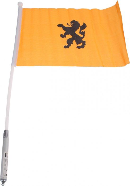 Nederland Handvlag Oranje 20 X 30 Cm