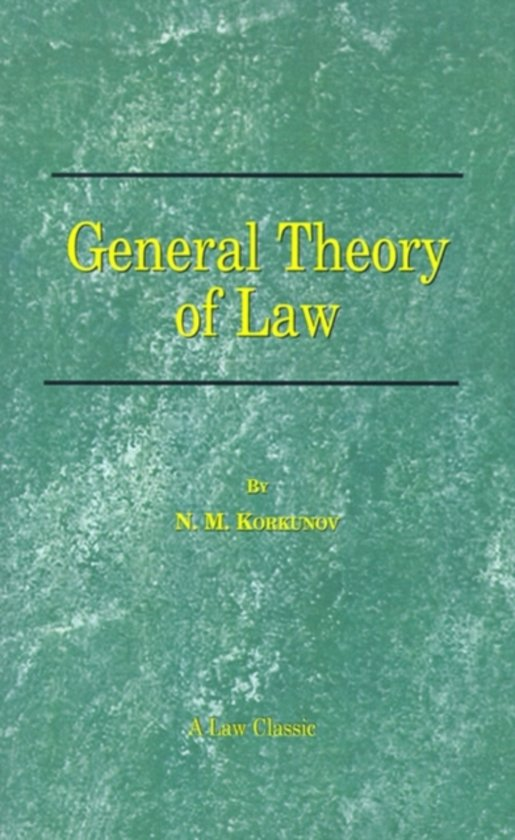 General Theory of Law