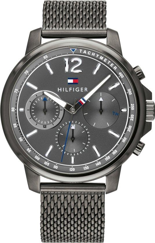 voortreffelijk ontwerp nieuw kopen presenteren Tommy Hilfiger TH1791530 Horloge - Staal - Grijs - Ø 44 mm