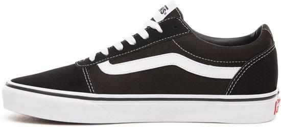 suede canvas Ward white 41 Maat Heren Sneakers Black Vans XqwYw