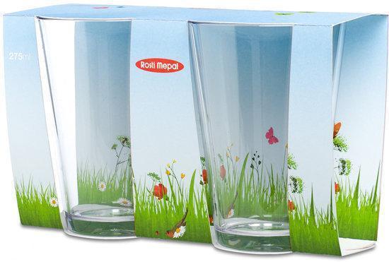 Mepal set glazen flow 275 ml