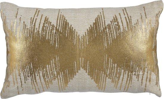 KAAT Amsterdam Ethnic Gold - sierkussen - 30x50 cm - Goud