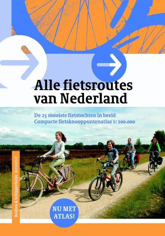 Boek cover Alle Fietsroutes in Nederland van Post, Bas van der (Paperback)
