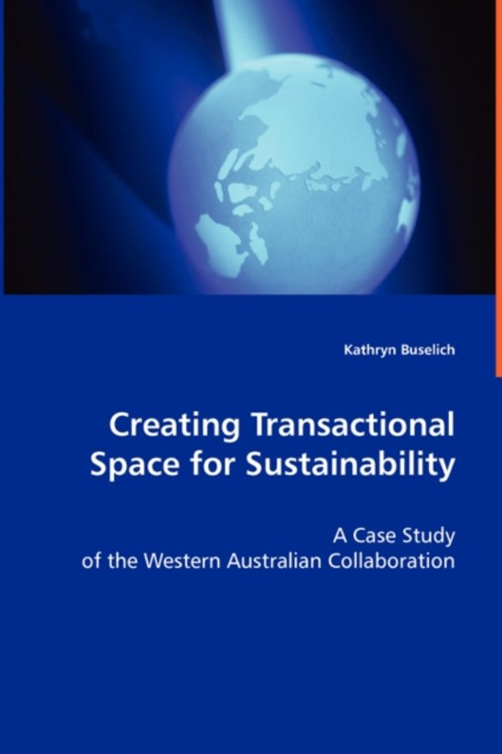 Creating Transactional Space for Sustainability