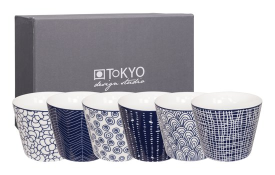 Tokyo Design Studio Le Bleu de Nîmes Kop 0,18 L - 6 st.