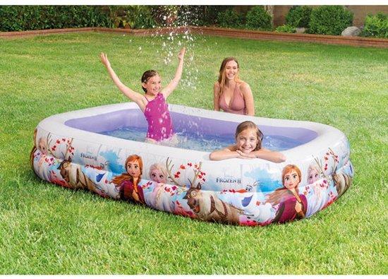Intex 58469 Frozen zwembad 264cm lang x 178cm breed x 53cm hoog