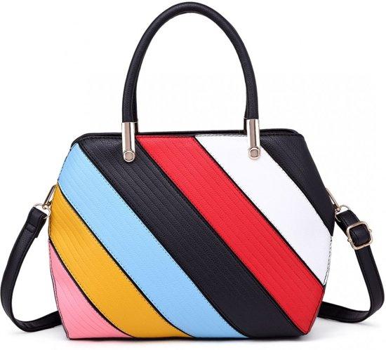 Schoudertas Miss Colour s1720 Stripe Lulu Multi xwxYqOvI