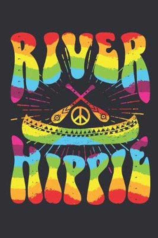 River Hippie: Hippie Journal, Blank Paperback Notebook, 150 pages, college ruled