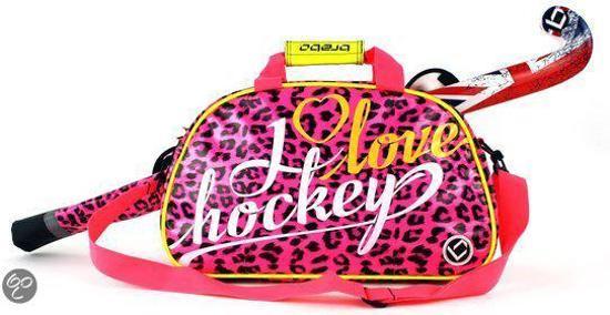 34aa99f47f4 bol.com | Brabo I Love Hockey Schoudertas - Sporttas - Roze