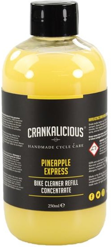 Crankalicious Pineapple Express Spray Wash Concentrate (Refill) - 250ml