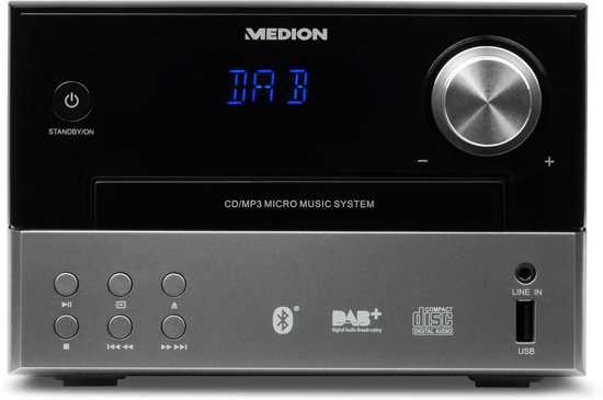 MEDION® LIFE P64190 DAB+ Micro Audio Systeem