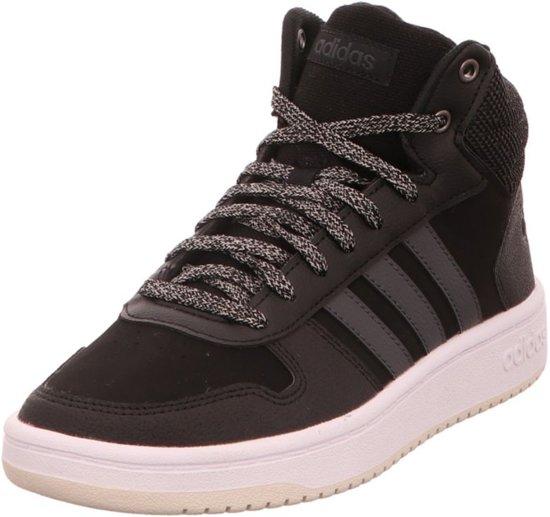 Zwart 2 Mid 40 Adidas Schoenen 0 Sneakers Hoops FfTqPY