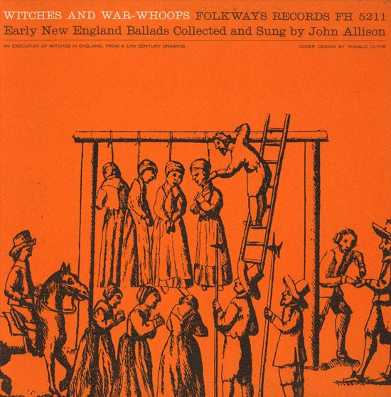 Witches & War-Whoops: Early New England Ballads