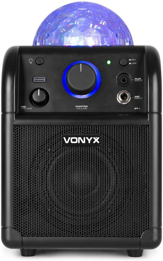 Vonyx SBS50B karaoke set met Bluetooth, echo en microfoon