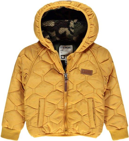 Tumble 'N Dry Jongens Winterjas ZALStuart - Yellow Dark - Maat 86