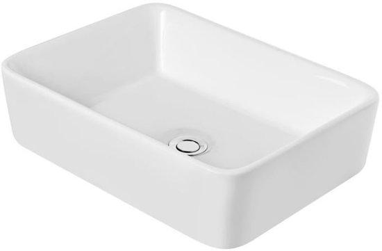 Bol.com kerra kr 182 opbouw waskom 48x37cm wit