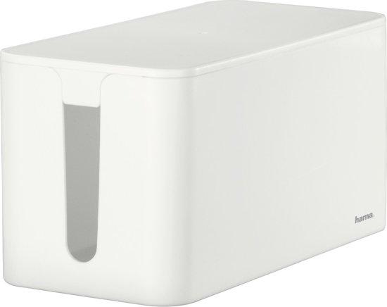Hama Opbergbox Stekkerdoos Mini - Wit