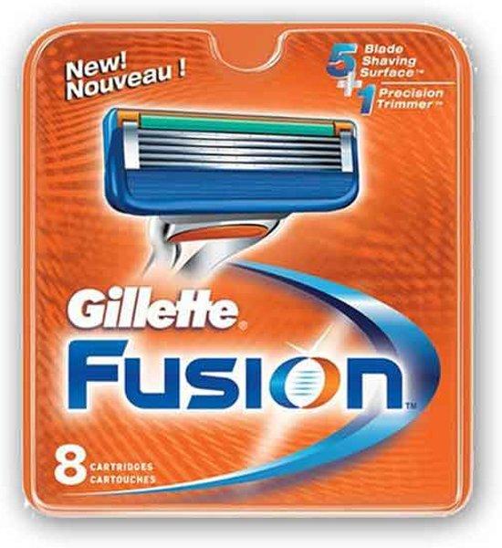 Gillette Fusion - 8 stuks - Scheermesjes