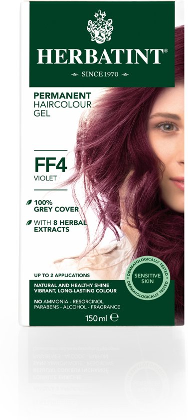 Herbatint FF4 Flash Fashion Violet (150 milliliter)