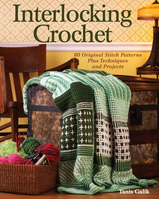 Bolcom Interlocking Crochet Ebook Tanis Galik 9781440217838