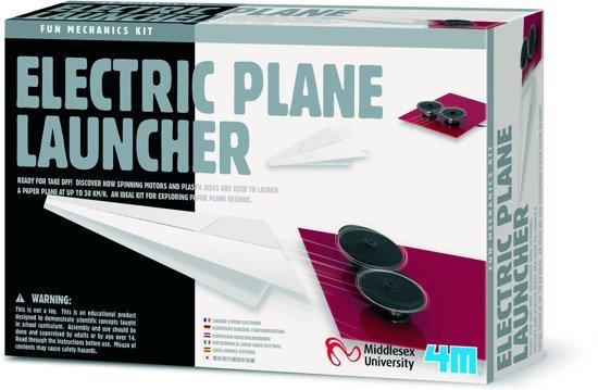 4M Knutselpakket Fun Mechanics Kit Elektrische vliegtuiglanceerder