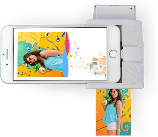 Prynt Pocket Foto Printer iPhone - Cool grey