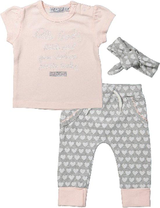 Babykleding Setjes.Bol Com Baby Set Sweet Grey Maat 56