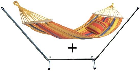 Hangmat Stoel Met Standaard.Bol Com Amazonas Hangmat Summerset Hangmat Sevilla Met Standaard