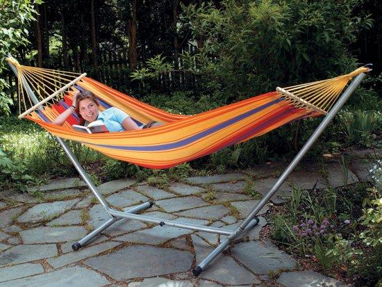 Amazonas Hangmat SummerSet - Hangmat Sevilla met standaard Sumo