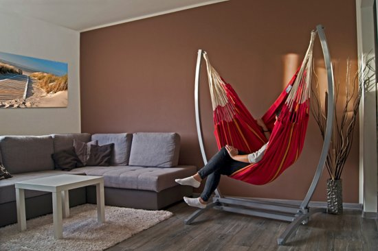 Potenza Gazela - Stabiele hangstoelstandaard inclusief hangstoel bevestigingsset