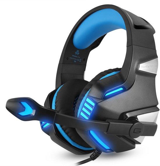 Cover van de game Hunterspider - Gaming Headset - Multi Platform - Zwart/Blauw