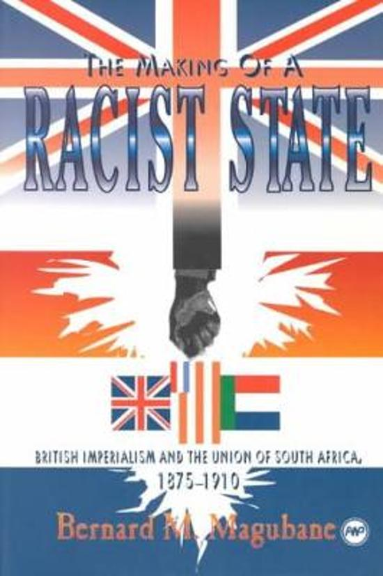 The Making Of A Racist State