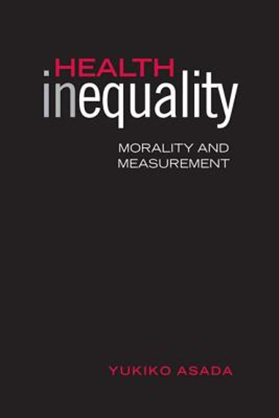 health inequality Eliminating disparities in health is a primary goal of the federal government and many states our overarching objective should be to improve population health for all groups to the maximum extent.