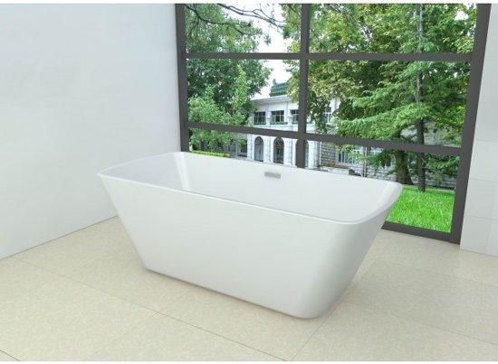 Larx vrijstaand ligbad acryl 170 x 78 x 63 cm wit