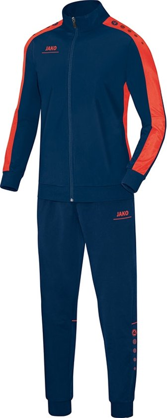Jako Striker Polyester Vest - Jassen  - blauw donker - XXXL